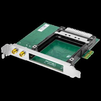 Карта 2-тюнерного приемника DVB-S2 c 2 CI слотами PCIe