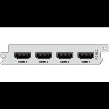 Модуль H.264 кодера/транскодера c 4 HDMI входами P01EC для DCP-3000MF