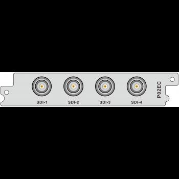 Модуль H.264 кодера/транскодера c 4 SDI входами P02EC для DCP-3000MF
