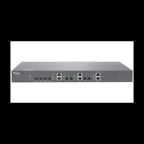 OLT BDCOM 3310 с 4 портами GEPON (SFP), 2 комбо-портами, 2хSFP, 2хRJ-45, 2 БП АC, FEC