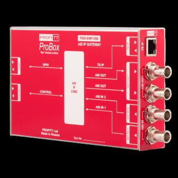 Конвертер двунаправленный TSoIP-DVB-ASI PBX-ENP-200 PROFITT