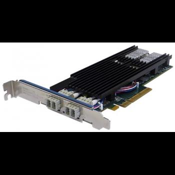 Сетевая карта 2 порта 1000Base-LX/10GBase-LR Bypass (LC, Intel 82599ES), Silicom PE210G2BPI9-LRD-SD