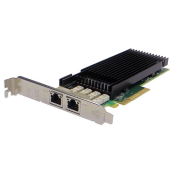 Сетевая карта 2 порта 10GBase-T Bypass (RJ45, Intel x540), Silicom PE210G2BPi40-T-SD