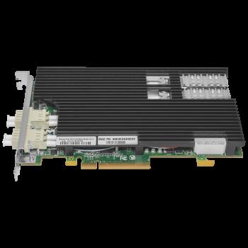 Сетевая карта 2 порта 10GBase-SR Content Director (LC, Intel 82599EB), Silicom PE210G2DBi9-SR