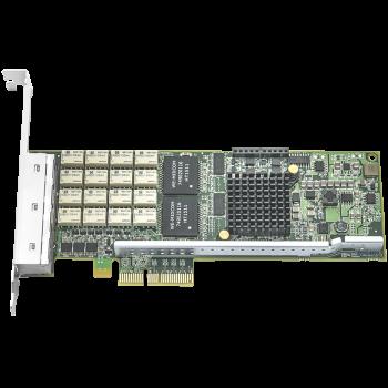Сетевая карта 4 порта 10/100/1000Base-T Bypass (RJ45, Intel i350AM4), Silicom PE2G4BPi35LA-SD