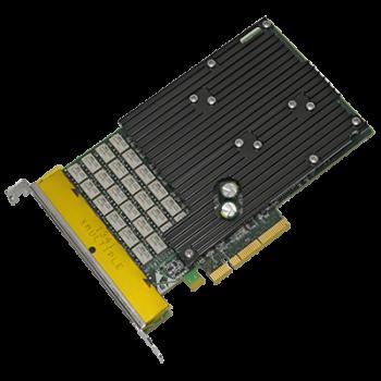 Сетевая карта 6 портов 10/100/1000Base-T Bypass (RJ45, Intel i350AM2 и Intel i350AM4), Silicom PE2G6BPi35-SD