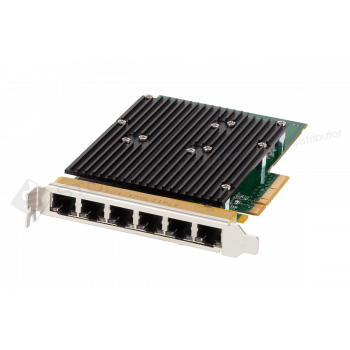 Сетевая карта 6 портов 10/100/1000Base-T (RJ45, Intel i350AM2 и Intel i350AM4), Silicom PE2G6i35-R