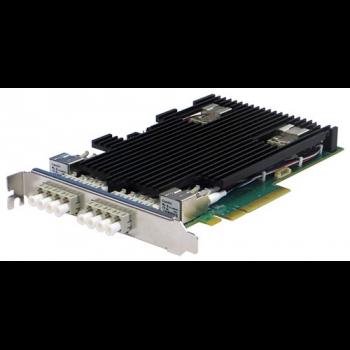 Сетевая карта 4 порта 10GBase-LR Bypass (LC, Intel XL710), Silicom PE310G4BPI71-LR