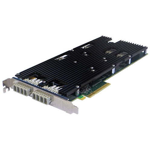 Сетевая карта 4 порта 1000Base-LX/10GBase-LR Bypass (LC, Intel 82599ES), Silicom PE310G4BPi9-LRD-SD