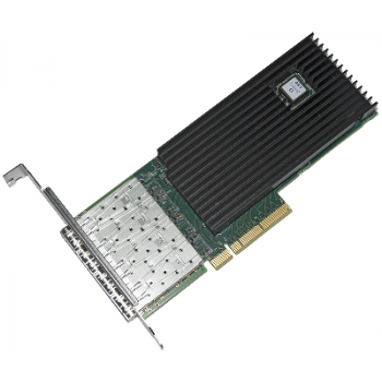 Сетевая карта 4 порта 10GBase-X (SFP+, Intel FTXL710AM1), Silicom PE310G4i71L-XR