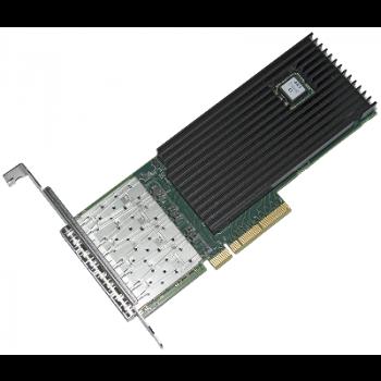 Сетевая карта 4 порта 10GBase-X (SFP+, Intel FTXL710AM1), Silicom PE310G4i71LB-XR