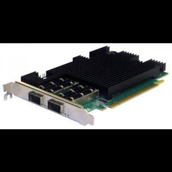 Сетевая карта 2 порта 40GBase-X (QSFP+, Intel XL710BM2), Silicom PE31640G2QI71-QX4