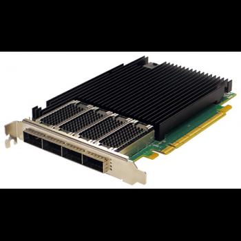 Сетевая карта 4 порта 40GBase-X (QSFP+, Intel XL710BM2), Silicom PE31640G4QI71-QX4
