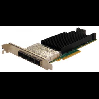 Сетевая карта 4 порта 25GBase-X (SFP28/zSFP+, Intel® XXV710 Based), Silicom PE325G4I71L-XR