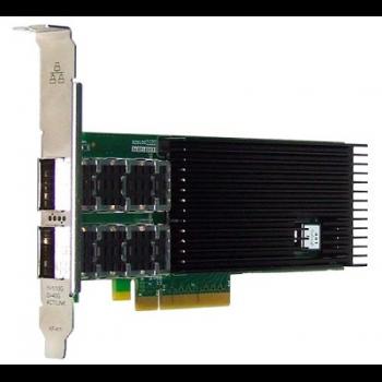 Сетевая карта 2 порта 40GBase-X (QSFP+, Intel XL710BM2), Silicom PE340G2Qi71-QX4