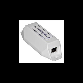 PoE удлинитель интерфейса Ethernet 10/100Mbs PEXT , совм. с 802.3at, 802.3af(аналог AXIS T8129). Отремонтирован, без упаковки.