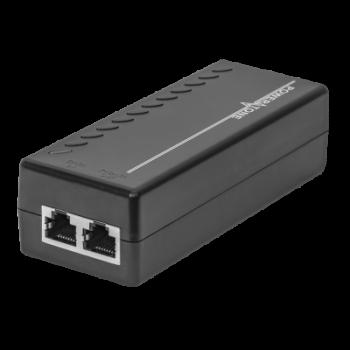 PoE инжектор неуправляемый PI-154-1A, 1x10/100/1000BASE-T 802.3af, PoE бюджет 18Вт (повреждена упаковка)