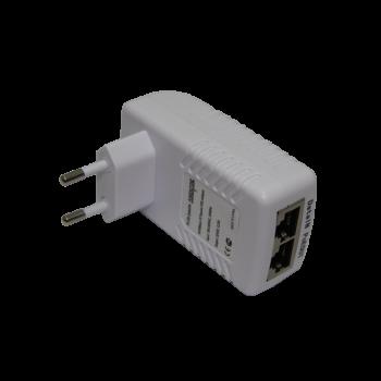 Инжектор PoE пассивный PI-154-1passive 1-портовый 48V 10/100Mbps.