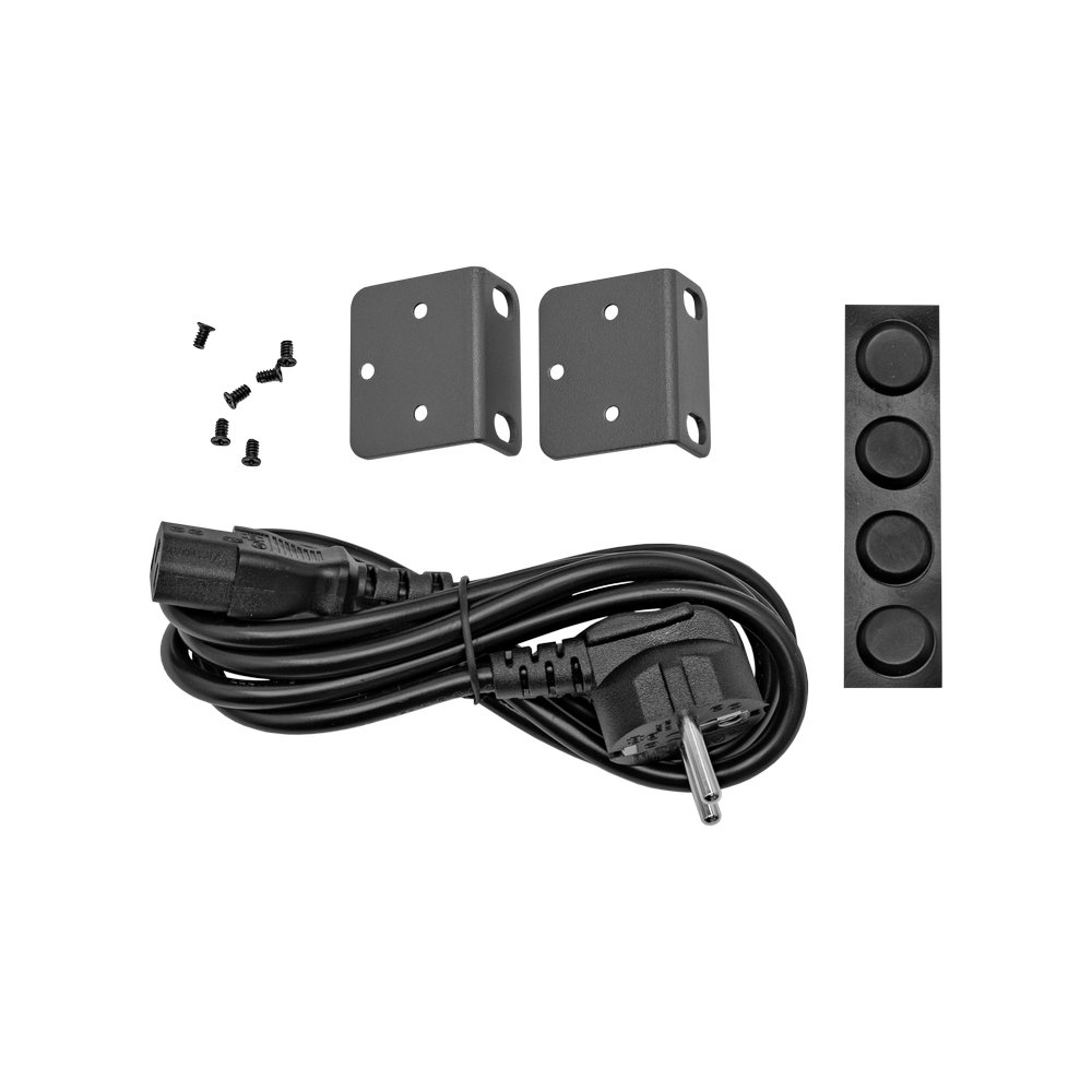 PoE инжектор стоечный неуправляемый PI-24-250R, 24x10/100/1000BASE-T PoE 802.3af&at, PoE бюджет 250Вт