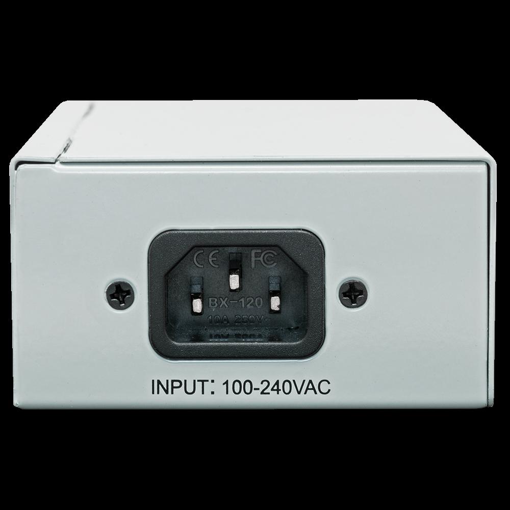 PoE инжектор неуправляемый PI-300-2, 2x10/100/1000BASE-T 802.3af&at, PoE бюджет 60Вт