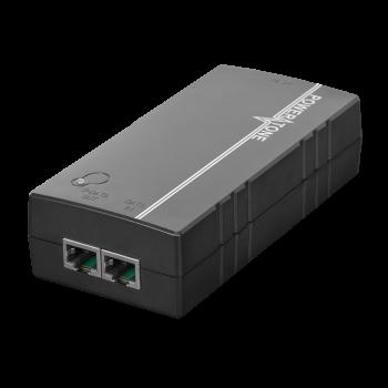 PoE инжектор неуправляемый PI-550-1, 1x10/100/1000BASE-T 802.3af&at, 802.3bt, PoE бюджет 55Вт