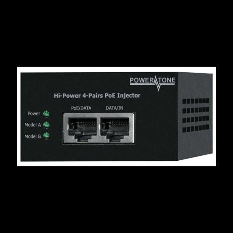 Инжектор High PoE PI-600-1 1-портовый 60W 802.3at&af 10/100/1000Mbps.