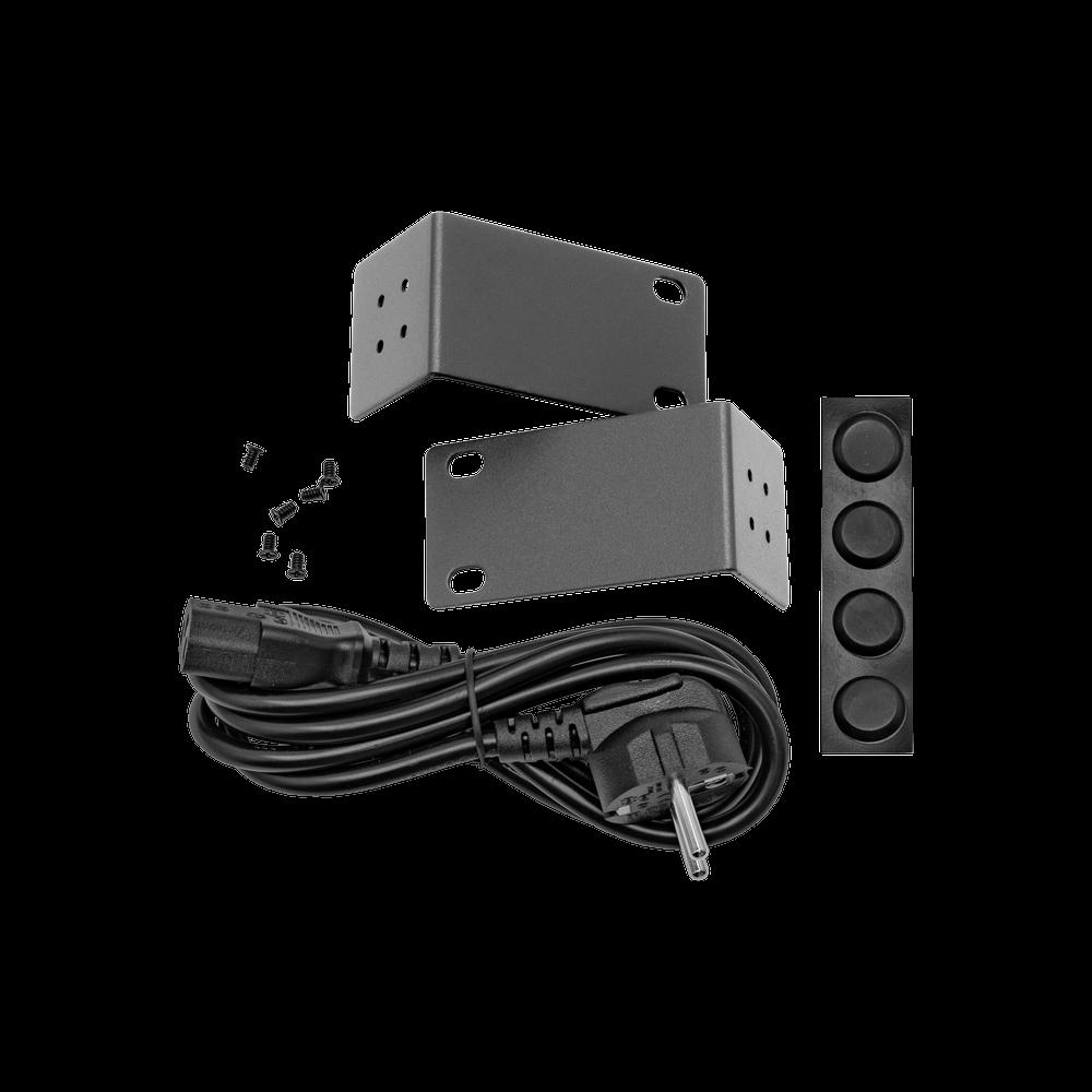 PoE инжектор стоечный неуправляемый PI-8-150R, 8x10/100/1000BASE-T PoE 802.3af&at, PoE бюджет 150Вт