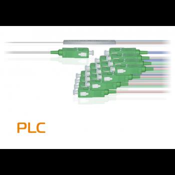 Делитель оптический планарный PLC-M-1x16, бескорпусный, разъемы SC/APC