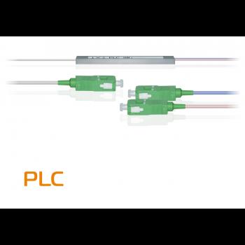 Делитель оптический планарный PLC-M-1x2, бескорпусный, разъемы SC/APC