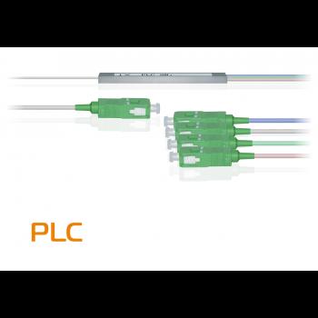 Делитель оптический планарный PLC-M-1x4, бескорпусный, разъемы SC/APC