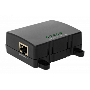 1-портовый сплиттер PS-250-1 PoE 802.3af/802.3at 10/100/1000Mbps, 5В/3А, 9В/2.5А, 12В/2.5А, 18В/1.6А