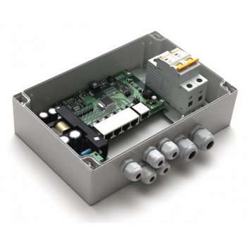 Уличный неуправляемый коммутатор PSW-1-45 WiFi для подключения 4 камер c возможностью подключения WiFi-точки доступа с питанием РоЕ 24V