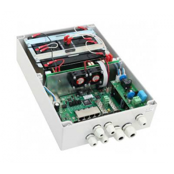 Многофункциональный гигабитный уличный управляемый коммутатор TFortis PSW-2G6F+UPS-Box