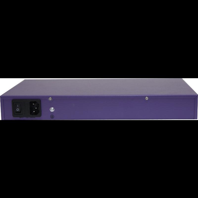 PoE коммутатор PUS-154-24-2 26-портовый неуправляемый 802.3af  24*10/100BASE-TX + 2*1000 Комбо (неполная комплектация)