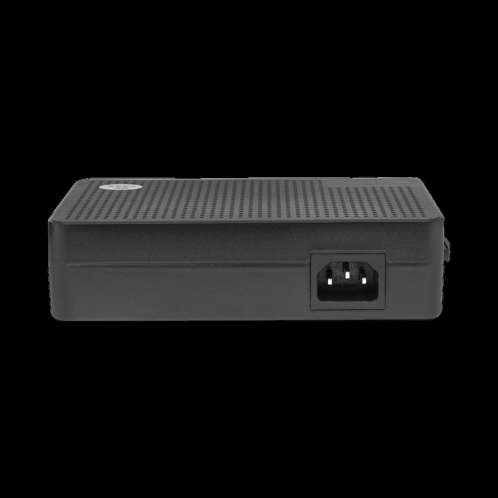 PoE коммутатор неуправляемый  PUS-TT04L-67M, 4x10/100BASE-TX 802.3af&at + 2x10/100BASE-TX, c изол. портов, PoE бюджет 67Вт, до 30Вт на порт
