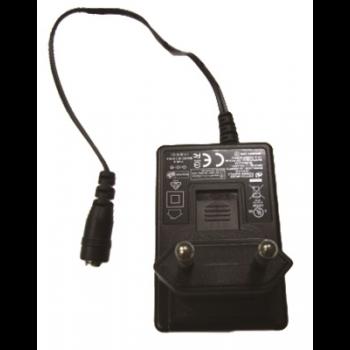 Блок питания PWR-12125-WPEU-S1 Non-locking barrel plug, 12VDC 1.25A, 100-240VAC with EU Plug, t: 0/40