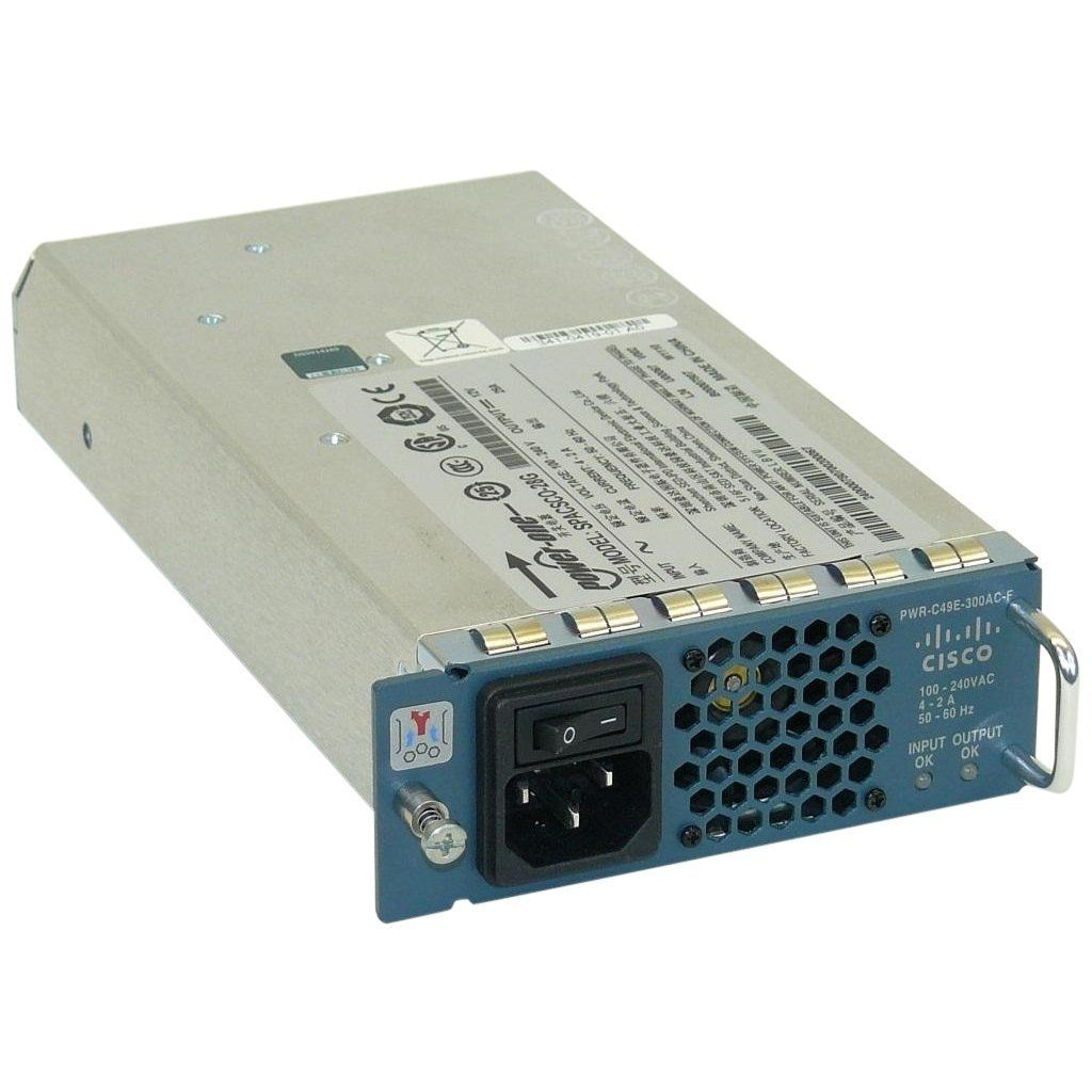 Блок питания Cisco Catalyst PWR-C49E-300AC-F