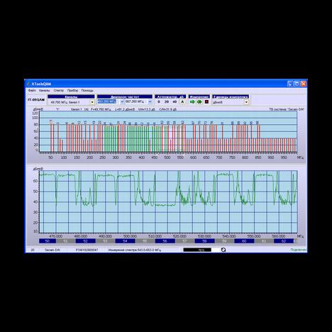 Измеритель сигналов DVB-C ИТ-09QAM Планар