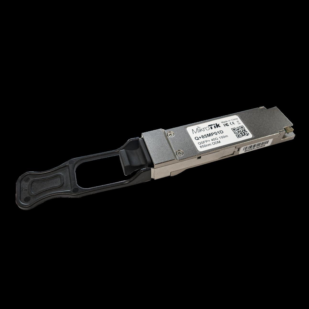 Модуль Mikrotik QSFP+ оптический, 40G, дальность до 150м, 850nm