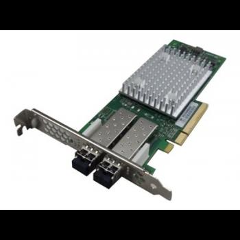 HBA-адаптер Qlogic QLE2742 два порта 32Гб Fiber Channel