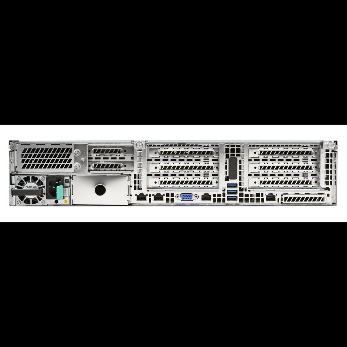 Серверная платформа Intel R2224WFTZSR 2U, до двух процессоров Intel Scalable, 24xDDR4, 24x2.5 HDD, 2x10Gb Base-T, 2xM.2 PCI-Ex4, 2x1300W PSU