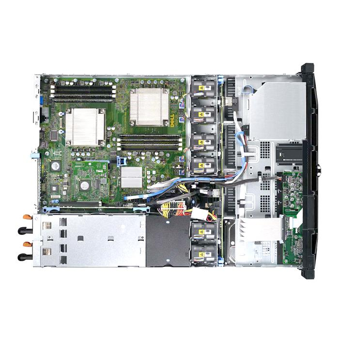 Сервер Dell PowerEdge R410, 2 процессора Intel Xeon Quad-Core E5620 2.40GHz, 32GB DRAM