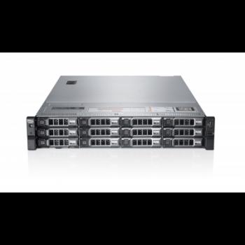 Сервер Dell PowerEdge R720XD, 2 процессора Intel Xeon 8C E5-2680 2.70GHz, 64GB DRAM, 12LFF