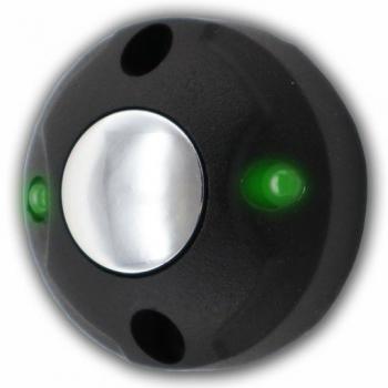 Антивандальная кнопка открытия замка, подсветка из двух светодиодов, скрытая или открытая проводка, 6 цветов корпуса на выбор