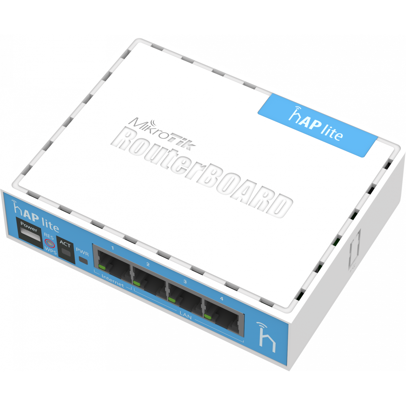 Беспроводной маршрутизатор Mikrotik hAP lite (RouterOS L4)