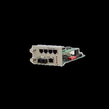 Карта 8xE1, 1xFE, встроенный трансивер для установки в шасси RC001D-1
