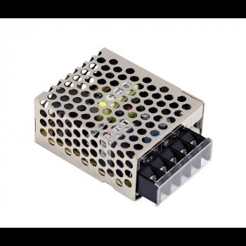 RS-15-12 Блок питания в защитном кожухе 12В, 1,3А, 15,6Вт Mean Well