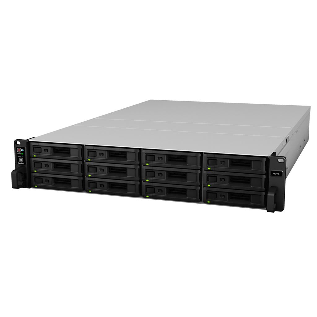"NAS-сервер Synology RackStation RS3617RPxs , 12xHDD 3,5"", 4х1000Base-T, Два БП, без дисков"