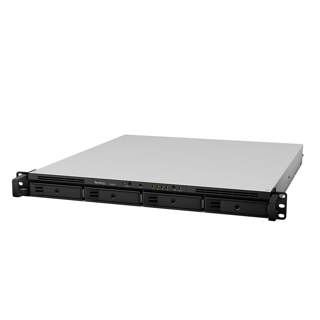 "NAS-сервер Synology RackStation RS820RP+, 4xHDD 3,5"", 4х1000Base-T, два БП, без дисков"