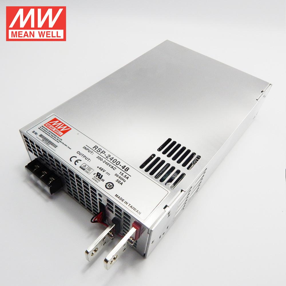 RSP-2400-48 Мощный блок питания в защитном кожухе 48В, 50А, 2400Вт Mean Well